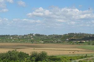 Montes da Vala von Casa das Oliveiras aus gesehen Picture